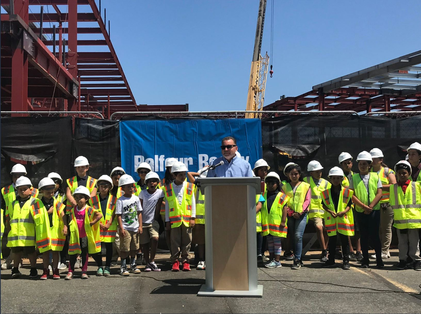 Topping Out Logan Heights Educational Complex